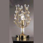 【Prearo】スワロフスキークリスタル・テーブルランプ1灯(φ150×H300mm)