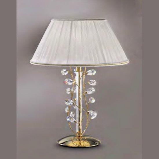 【Prearo】スワロフスキークリスタル・テーブルランプ1灯(φ420×H660mm)