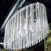 <b>【Prearo】</b>デザインシャンデリア5灯(φ1200×D600×H1400mm)