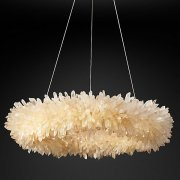 <b>【Restoration Hardware】</b>デザインシャンデリア「GEODE QUARTZ CRYSTAL 」(W690×H180mm)<img class='new_mark_img2' src='//img.shop-pro.jp/img/new/icons1.gif' style='border:none;display:inline;margin:0px;padding:0px;width:auto;' />