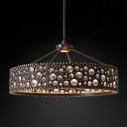 <b>【Restoration Hardware】</b>デザインシャンデリア2灯「AMBROSE」(W790×H500mm)<img class='new_mark_img2' src='//img.shop-pro.jp/img/new/icons1.gif' style='border:none;display:inline;margin:0px;padding:0px;width:auto;' />