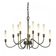 <b>【Hubbardton Forge】</b>デザインシャンデリア10灯「Lisse」(φ720×H450mm)<img class='new_mark_img2' src='//img.shop-pro.jp/img/new/icons1.gif' style='border:none;display:inline;margin:0px;padding:0px;width:auto;' />