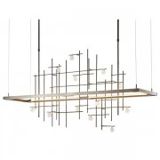 <b>【Hubbardton Forge】</b>デザイン照明「Spring」(W1360×D400×H720mm)