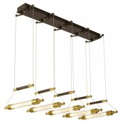 【Hubbardton Forge】デザインペンダント照明10灯「Otto」(W1010×D230×H480mm)