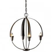 <b>【Hubbardton Forge】</b>インダストリアルスタイル照明4灯「Cirque」(φ480×H530mm)