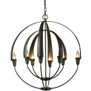 <b>【Hubbardton Forge】</b>インダストリアルスタイル照明8灯「Double Cirque 」(φ650×H710mm)<img class='new_mark_img2' src='//img.shop-pro.jp/img/new/icons1.gif' style='border:none;display:inline;margin:0px;padding:0px;width:auto;' />