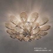 <b>【sylcom】</b>イタリア製 モダン・ヴェネチアンシーリングシャンデリア 20灯(カラー:4色)※要お見積もり