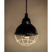 ホーローランプ1灯・ブラック(φ175mm)