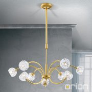 <b>【ORION】</b>クリスタルモダンシャンデリア ゴールド 9灯(W690×H180mm)<img class='new_mark_img2' src='//img.shop-pro.jp/img/new/icons1.gif' style='border:none;display:inline;margin:0px;padding:0px;width:auto;' />