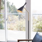 ジェネシスフロアーランプ1灯(Φ175×H1030-1430mm)