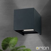 <b>【ORION】</b>屋外用 LEDウォールライト 2灯 (W100×D100×H100mm)<img class='new_mark_img2' src='https://img.shop-pro.jp/img/new/icons1.gif' style='border:none;display:inline;margin:0px;padding:0px;width:auto;' />