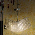 <B>【ALABASTER】</B>デザイン クリスタルシャンデリア 6灯(W500×H400mm)