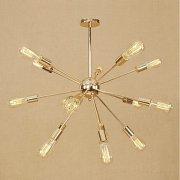 デザイン照明 スプートニク シャンデリア 15灯 ゴールドorクローム(約W670×H650mm)