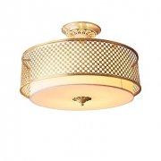 デザインシーリングライト 4灯 ゴールド(Φ400×H370mm)