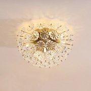 デザインシーリングライト 8灯 ゴールド(Φ480×H290mm)