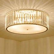 デザインクリスタルシーリング照明 4灯 ゴールド(Φ380×H160mm)