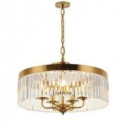 デザインクリスタル照明 5灯 ゴールド(Φ500×H350mm)