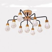 デザインクリスタル照明 9灯 ゴールド(W650×H300mm)
