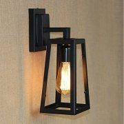 デザインウォールライト 1灯 ブラック(W150×H330mm)