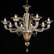 <b>【VENICE ARTE】</b>ヴェネチアンガラスシャンデリア「Cannaregio」8灯(Φ950×H700mm)※要お見積もり