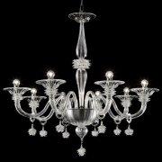<b>【VENICE ARTE】</b>ヴェネチアンガラスシャンデリア「Magellano」8灯(Φ950×H1050mm)※要お見積もり