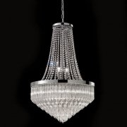 【VENICE ARTE】ヴェネチアンガラスシャンデリア「Bella」8灯(Φ600×H900mm)※要お見積もり