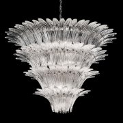 <b>【VENICE ARTE】</b>ヴェネチアンガラスシャンデリア「Casablanca」12灯(Φ1000×H750mm)※要お見積もり