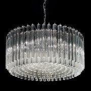 <b>【VENICE ARTE】</b>ヴェネチアンガラスシャンデリア「Esmeralda」8灯(Φ750×H330mm)※要お見積もり