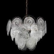 <b>【VENICE ARTE】</b>ヴェネチアンガラスシャンデリア「Dorothy」3灯(Φ500×H350mm)※要お見積もり
