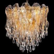 <b>【VENICE ARTE】</b>ヴェネチアンガラスシャンデリア「Karin」7灯(Φ700×H700mm)