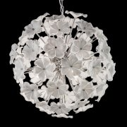 <b>【VENICE ARTE】</b>ヴェネチアンガラスシャンデリア「Lotus」6灯(Φ700×H700mm)