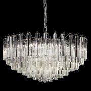 <b>【VENICE ARTE】</b>ヴェネチアンガラスシャンデリア「Regina」9灯(Φ670×H330mm)※要お見積もり