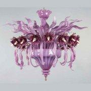<b>【VENICE ARTE】</b>ヴェネチアンガラスシーリングライト「Azalea」16灯(Φ1300×H730mm)※要お見積もり