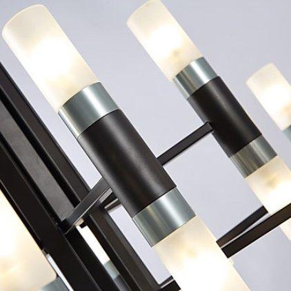 ガラスシェードペンダントライト・ホワイトorブラック(W780×H520mm)