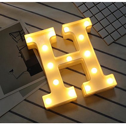 アルファベット LEDナイトライト(W750×H600mm)