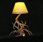 【鹿の角】ホーンテーブルライト 1灯(W450×D450×H720mm)