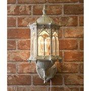 ウォールランプ1灯「オリエンタル」・ホワイト(W200×D210×H300mm)