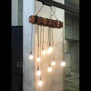 【2台在庫有!】インダストリアル・スタイル照明10灯(W780mm)