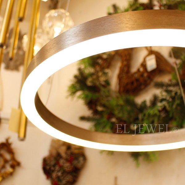 【在庫有!】モダン照明 フープ型ライト1灯(φ400mm)