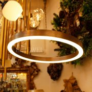 【2台在庫有!】モダン照明 フープ型ライト1灯(φ400mm)