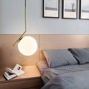 デザイン照明ボールシェードペンダントライト1灯(W200mm)