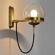 デザインボールシェードウォールライト 1灯 (W150×H280mm)