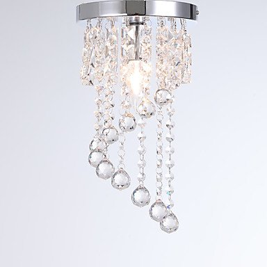 シーリングクリスタルライト1灯(W200×H340mm)