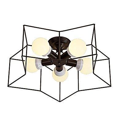 星型シーリングライト5灯(W580×H160mm)