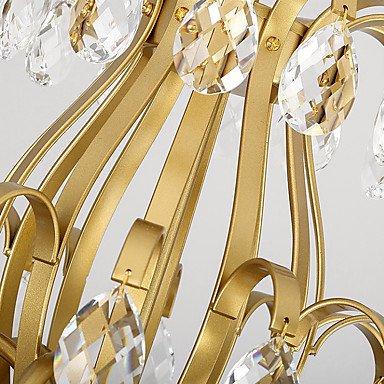 クリスタルシャンデリア3灯ゴールドorブラック(W320×H450mm)