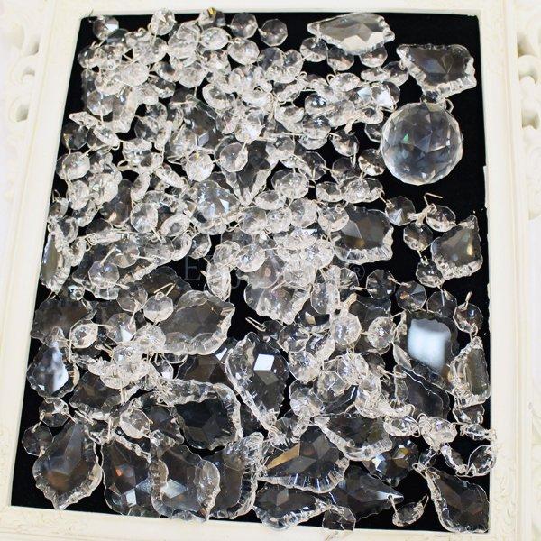チャイニーズクリスタルパーツ 福袋 (6灯1台分が作れる分量)