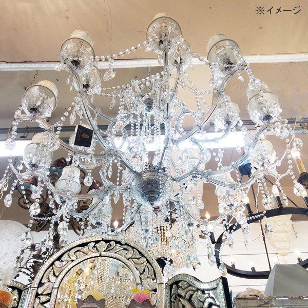 【70%OFF】【期間限定セール】【在庫有!】【LA LUCE】クリスタルシャンデリア 18灯(W1100×H1100mm)