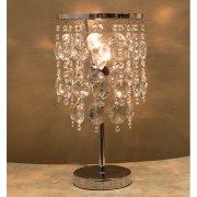 クリスタルテーブルランプ1灯「CHERRY」(φ200×H425mm)