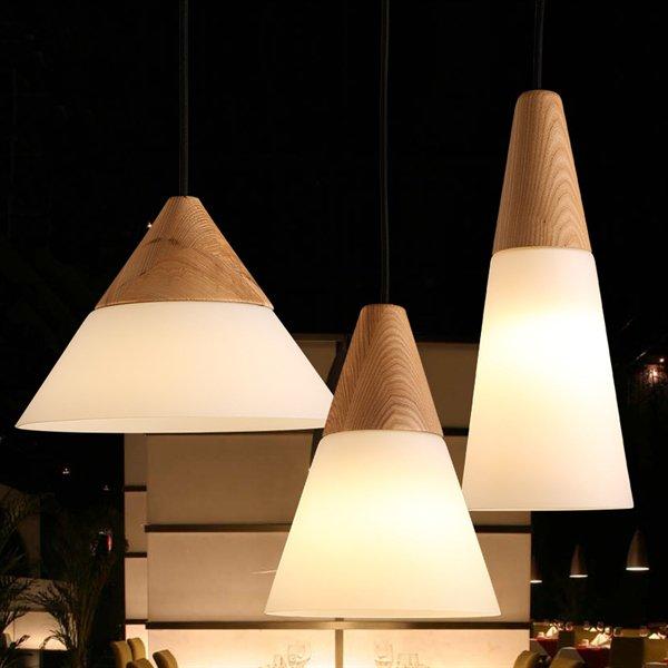 北欧スタイル照明ペンダントライト1灯(φ260×H180mm)