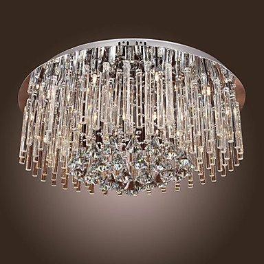 シーリングライト クリスタル照明 12灯(D600×H300mm)